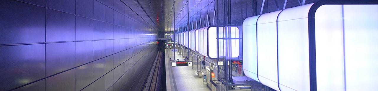 Datenschutz - Hamburg U-Bahn Überseequartier