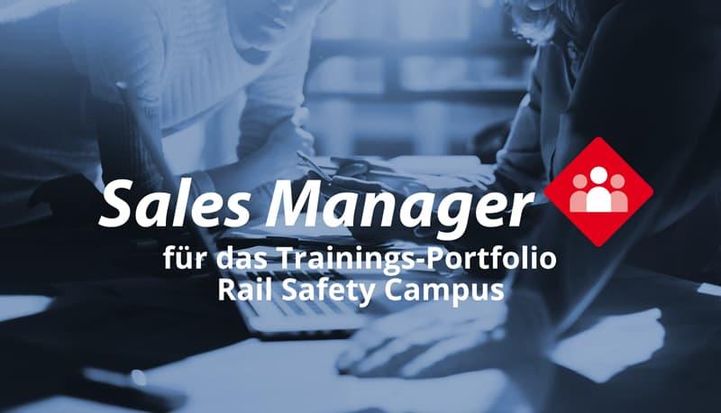 Sales Manager (m/w/d) für unser Trainings-Portfolio des RSC
