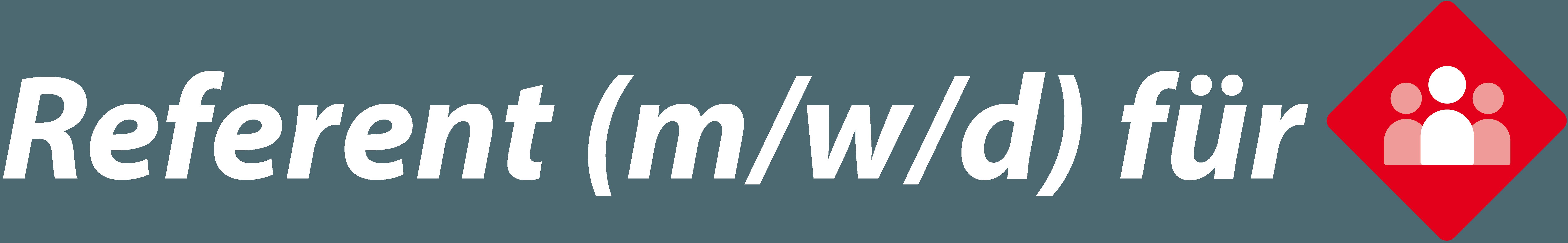 Referent (m/w/d) Marketing und Unternehmenskommunikation