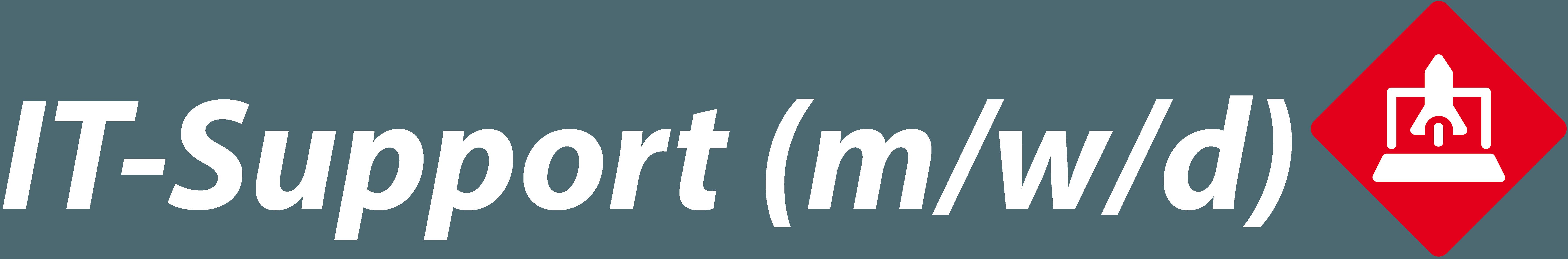 Mitarbeiter (m/w/d) IT-Support in Teilzeit
